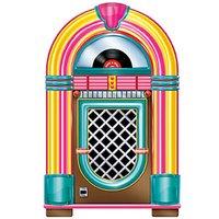 Rock 'n' roll jukebox pappfigur