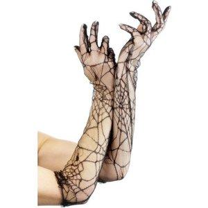 Handskar spindelväv