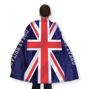 Brittiska flaggan kropps cape