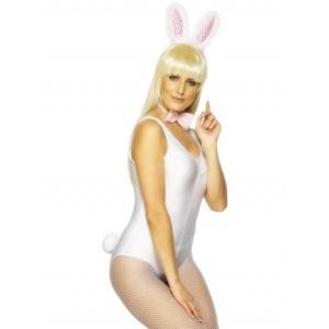Kaninset - rosa och vit