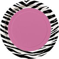 Assietter - Zebra - 18 cm 8 st