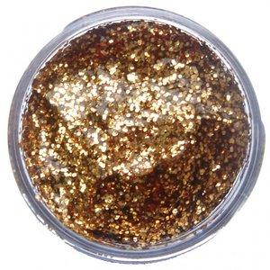 Snazaroo ansiktsfärg - guldfärgad glittrigt gel - 12 ml
