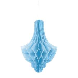 Honeycomb ljuskrona - Ljusblå