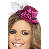 Hatt Hen Party - rosa