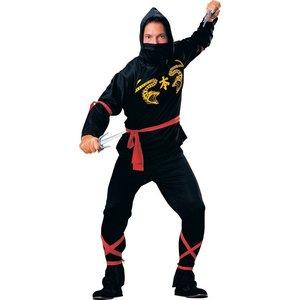 Ninja maskeraddräkt