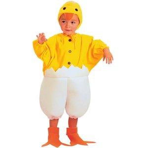 Kyckling maskeraddräkt 2-4 år