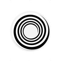 1 -dags svart spiral kontaktlinser