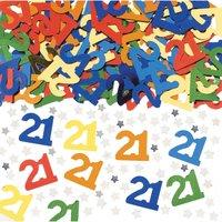 21-års bords/inbjudnings konfetti - 14 g
