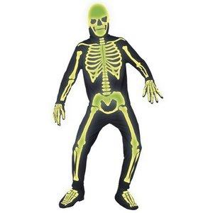 Gravplats ben maskeraddräkt