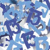 Bordskonfetti till 13-årsdagen blå - 14g