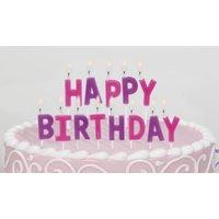 Happy birthday tårtljus