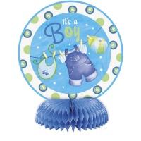 Bordsdekorationer - Klädlina blå 4 st