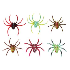 Färgade spindlar