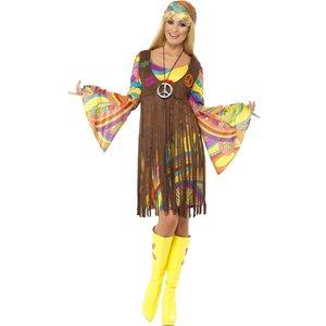 Peace & Love hippie-maskeraddräkt